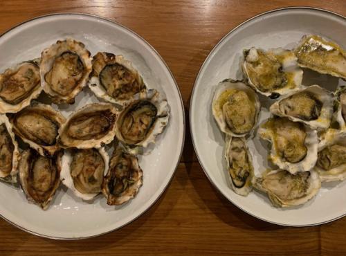 Bbqd oysters